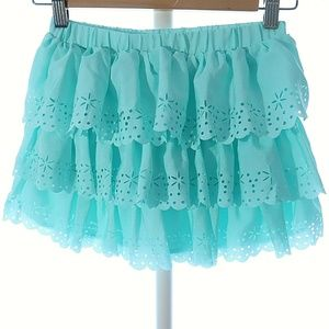Disney Store 9/10 Skort Shorts Skirt Combo Teal Ru